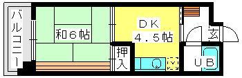 柴田ビル / 301号室間取り