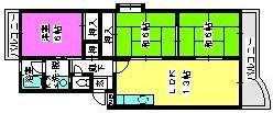 エクセル篠栗 / 407号室間取り
