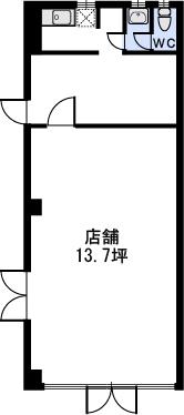 サンヒルズTAKEDAⅡ / 103号室間取り