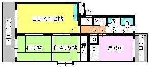 エステート篠栗 / 305号室間取り