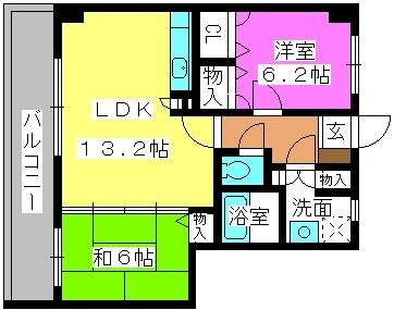 Tutti27 / 505号室間取り