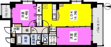モンテ アンビシオン / 501号室間取り