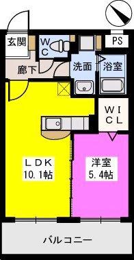 B・Jハウス博多 / 302号室間取り