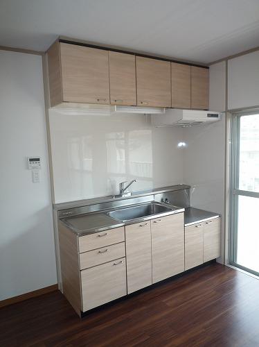 コーポラス梅津 / 201号室キッチン