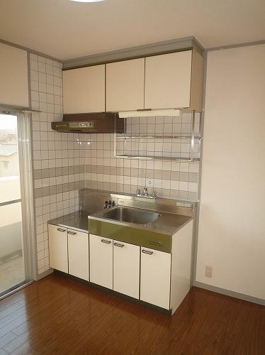 パステルハイム / 402号室キッチン