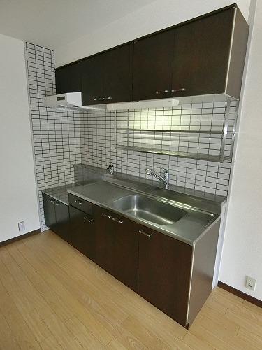 ライラックヒルズ空港前 / 201号室キッチン