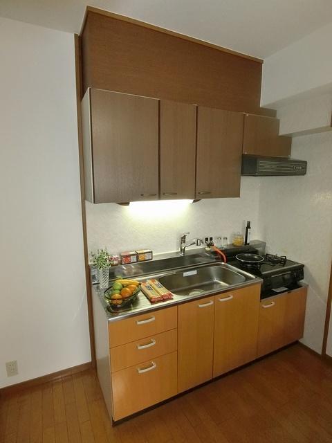 グランベルデ丸善 / 203号室キッチン