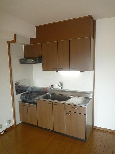 グランベルデ丸善 / 602号室キッチン