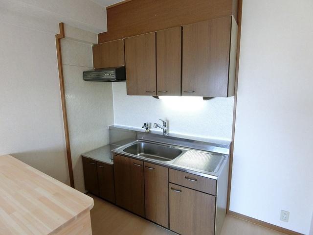 グランベルデ丸善 / 702号室キッチン