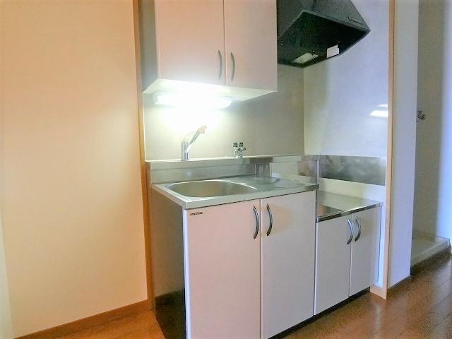 ルミノスコート / 603号室キッチン