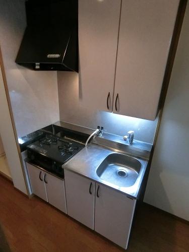 ルミノスコート / 607号室キッチン