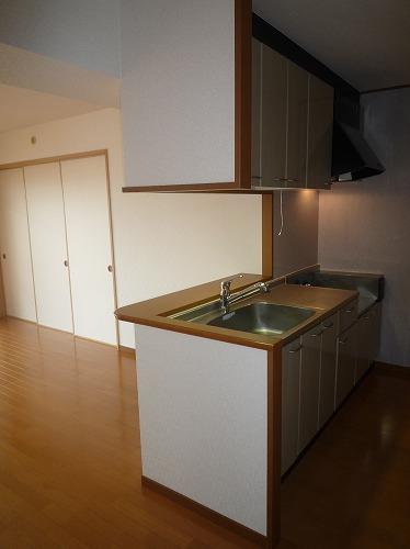 リバーランド箱崎Ⅴ / 601号室キッチン