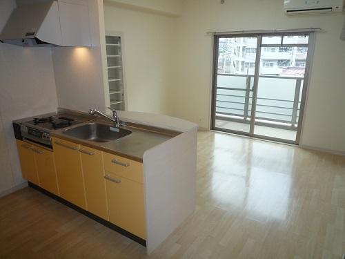 グランシャリオ / 303号室キッチン