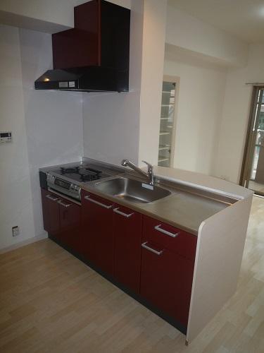 グランシャリオ / 401号室キッチン