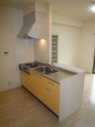 グランシャリオ / 602号室キッチン