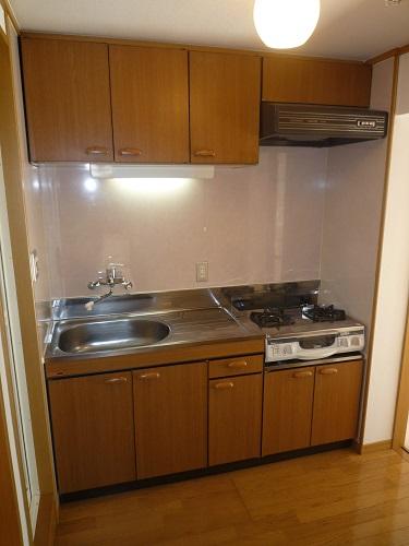 パークサイド黒川 / 202号室キッチン