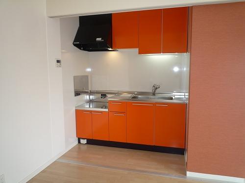 テゾーロカーザ / 205号室キッチン