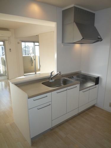 グレイス サンビオ / 603号室キッチン