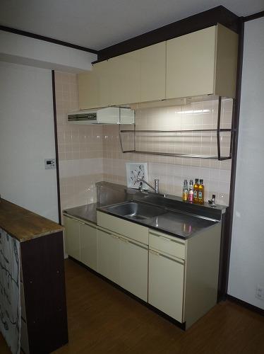 レジデンス牛房 / 103号室キッチン