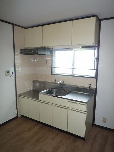 レジデンス牛房 / 205号室キッチン
