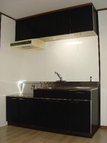 サンハイツKUDO / 202号室キッチン