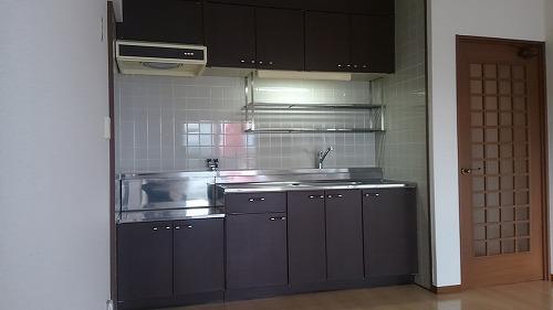 タウンコート志免 / 403号室キッチン