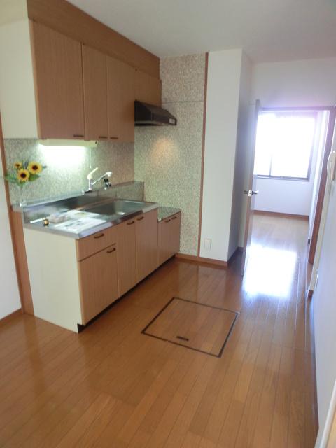 メロディハイツ戸原 / B-103号室キッチン
