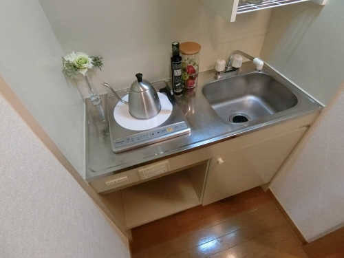プレデュパルク壱番館 / 607号室キッチン