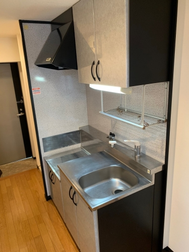 スクレーパー東 / 203号室キッチン