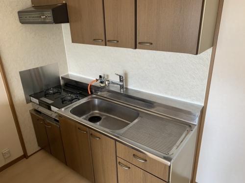 グランベルデ丸善 / 503号室キッチン