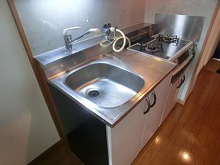 ルミノスコート / 401号室キッチン
