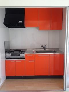 SUN STELLA / 202号室キッチン
