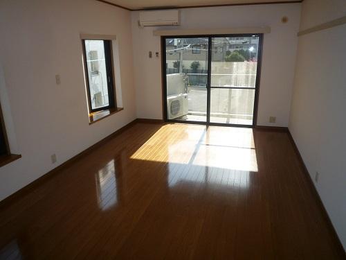 パークサイド黒川 / 404号室リビング