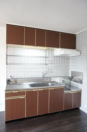 パステルハイムⅡ / 403号室キッチン