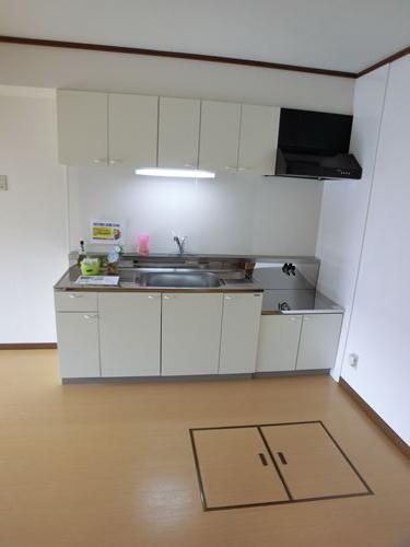 エクセル篠栗 / 102号室キッチン