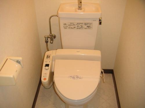 フレスコ'93 / 401号室トイレ