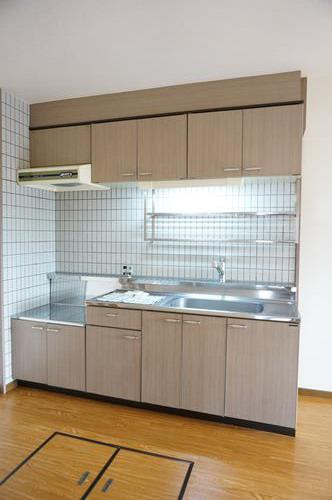 コムフォート・シティ / 301号室キッチン