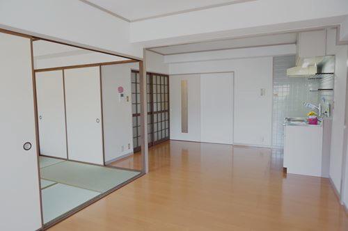 シティハイツ篠栗 / 203号室リビング