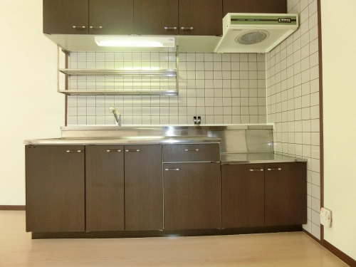 ハイ・アルブル迎田 / 202号室キッチン