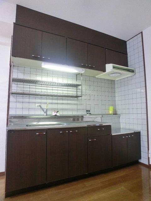 ハイ・アルブル迎田 / 302号室キッチン