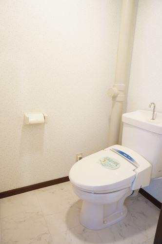 ヴィラフェリス空港南 / 101号室トイレ