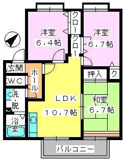 プリマベーラ志免 / 101号室
