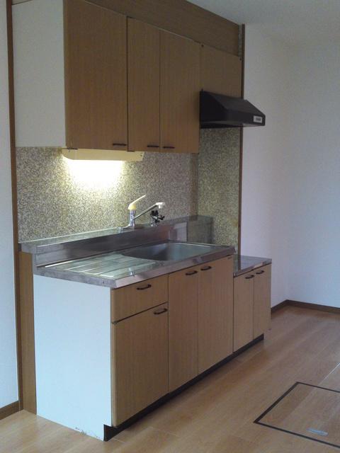 メロディハイツ戸原 / B-101号室キッチン
