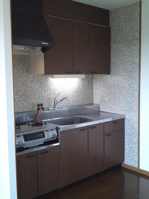 フラワーハイツ長者原 / A-202号室キッチン