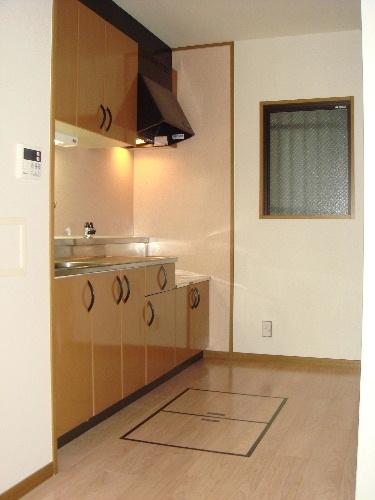 リヴェール伊賀Ⅱ / 102号室キッチン