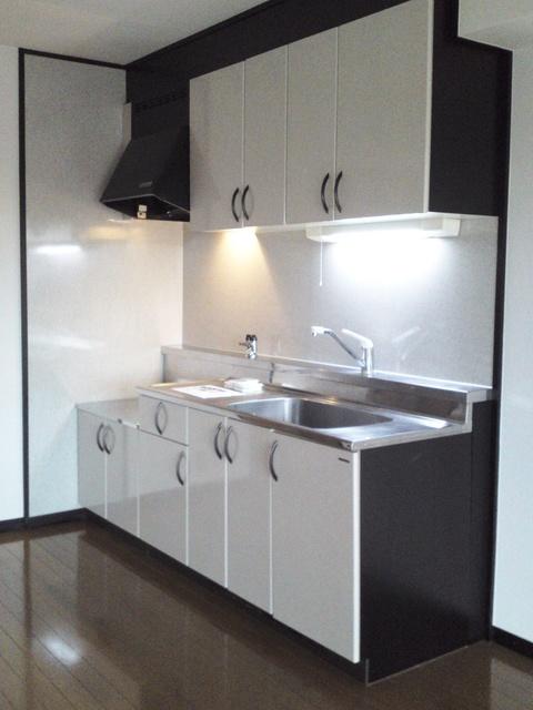 アイビーハイツⅡ / 301号室キッチン