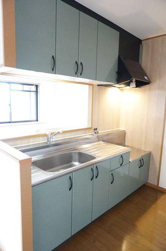 グリシーヌ空港 / 505号室キッチン