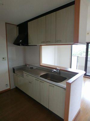 ルミエール21 / 403号室キッチン