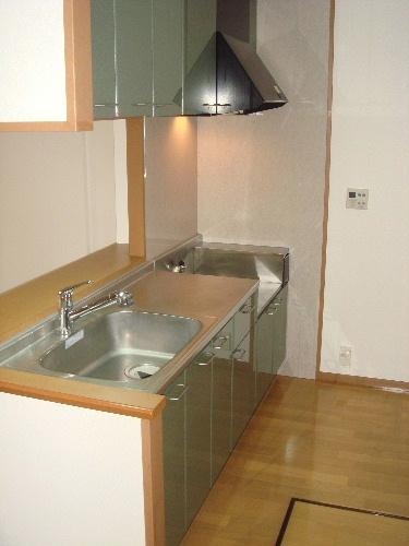 リヴェール高田 / 105号室キッチン