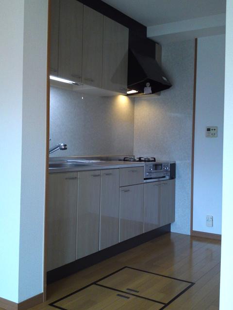 リヴェール高田 / 107号室キッチン